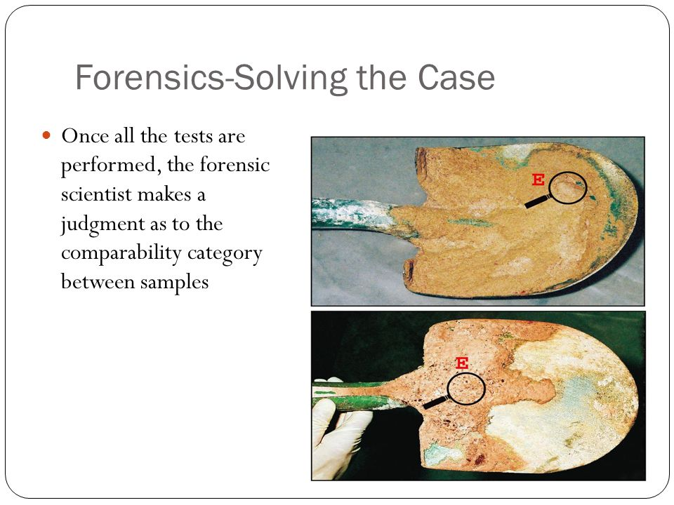 Forensics-Solving the Case