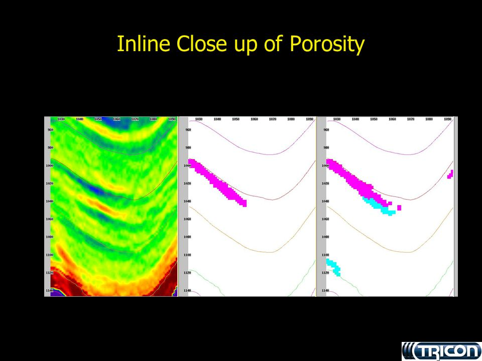 Inline Close up of Porosity