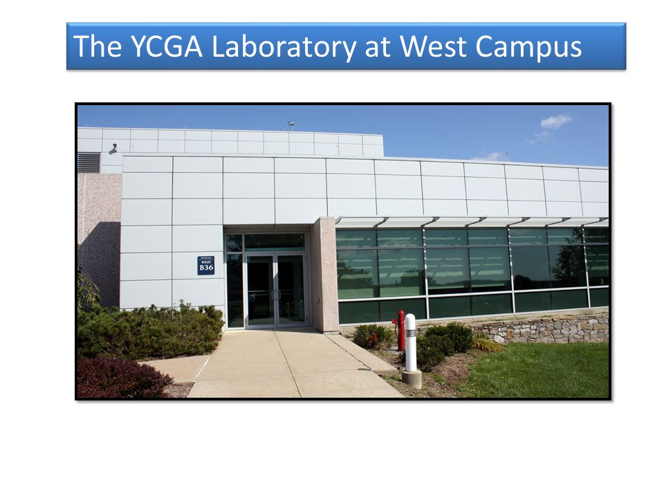 The YCGA Laboratory at West Campus