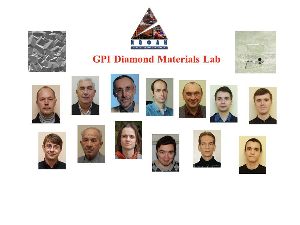 GPI Diamond Materials Lab