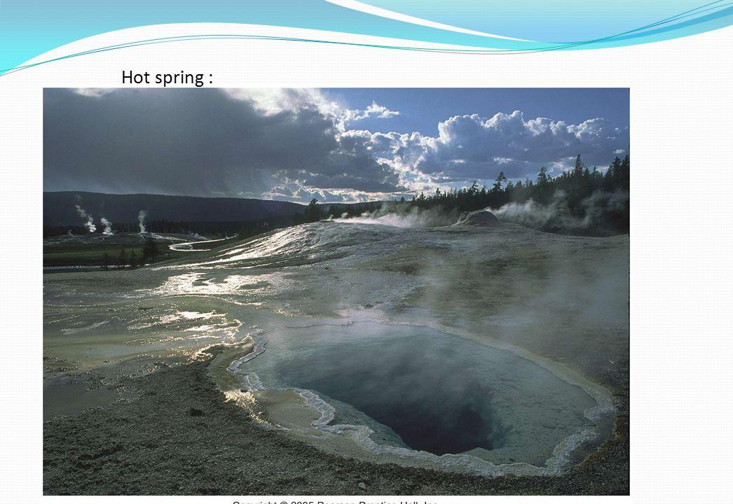 Hot spring :