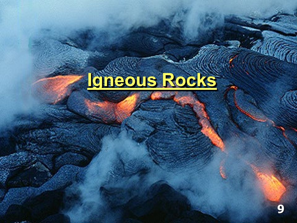 Geology – Chapter 3 – Igneous Rocks
