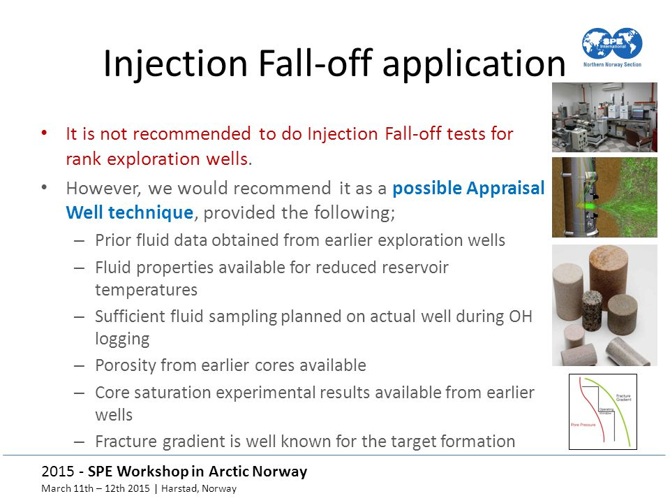 Injection Fall-off application