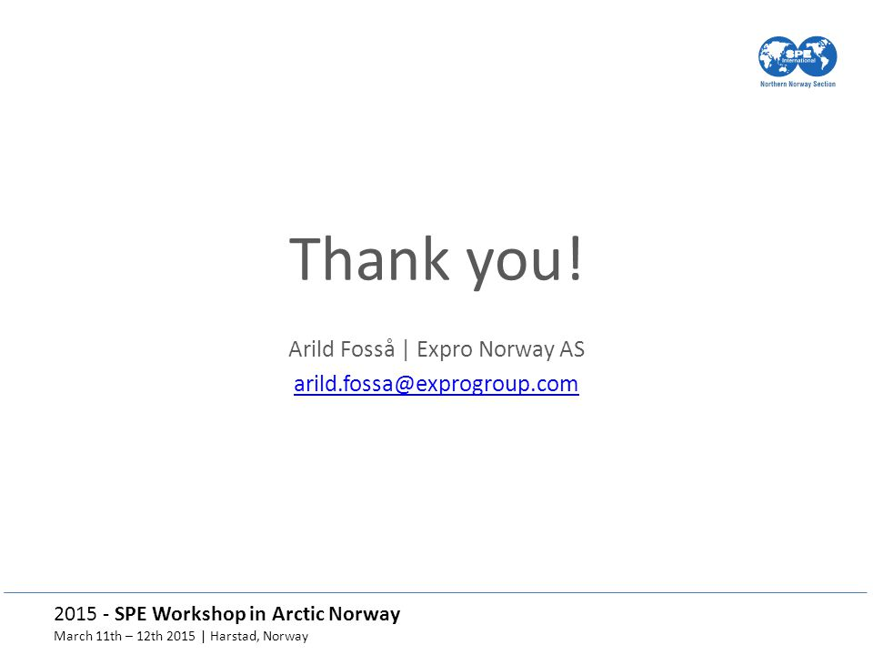 Arild Fosså | Expro Norway AS