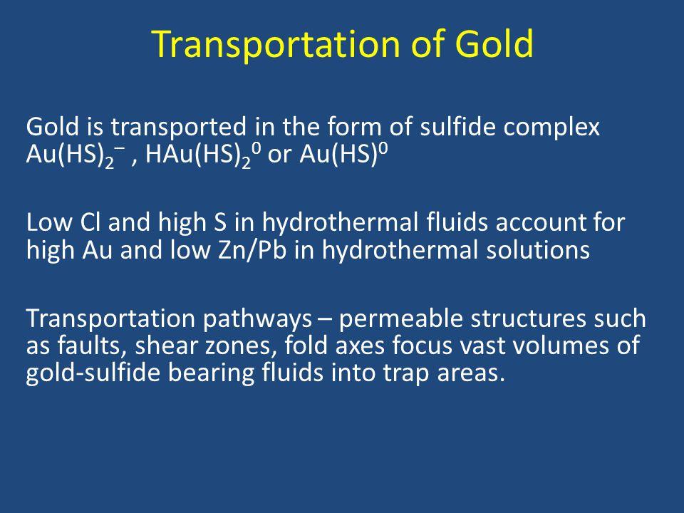 Transportation of Gold
