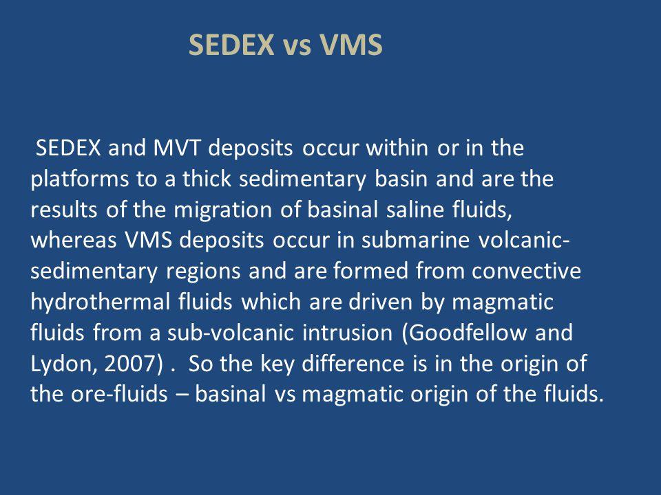 SEDEX vs VMS