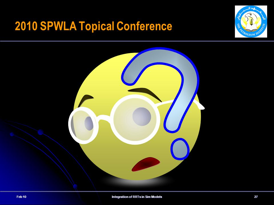 2010 SPWLA Topical Conference