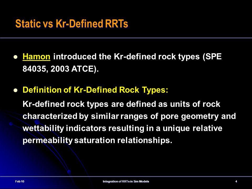 Integration of RRTs in Sim Models