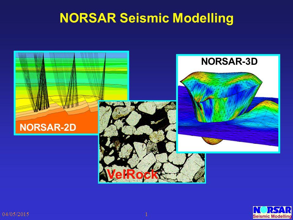 NORSAR Seismic Modelling