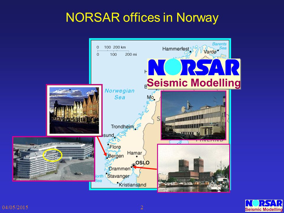 NORSAR offices in Norway