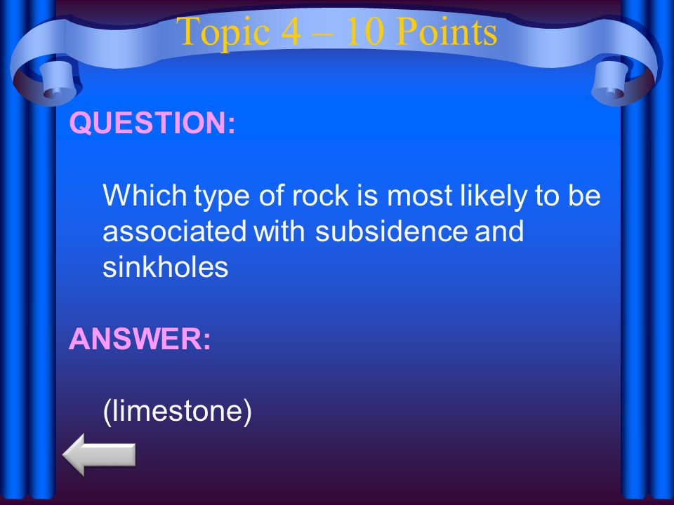 Topic 4 – 10 Points QUESTION: