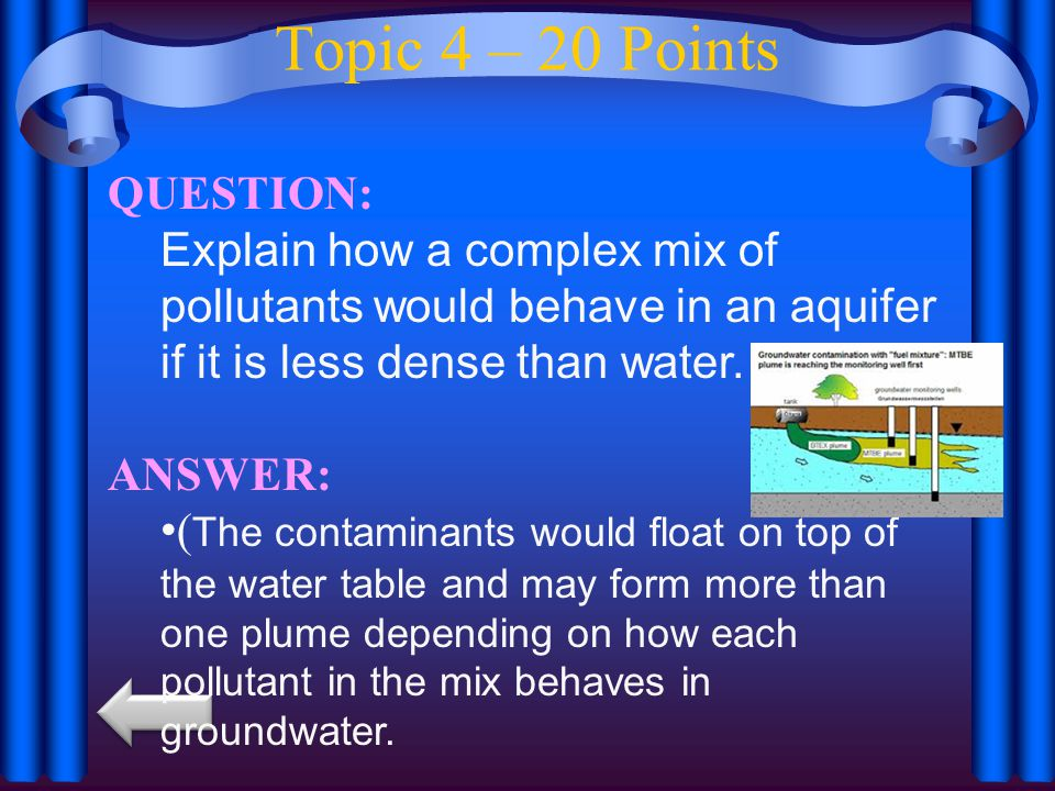 Topic 4 – 20 Points QUESTION: