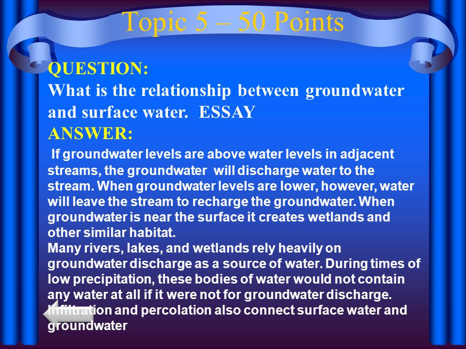 Topic 5 – 50 Points QUESTION: