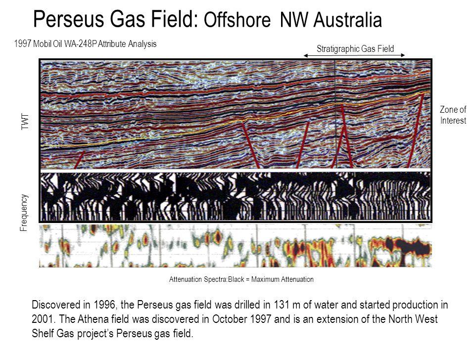 Perseus Gas Field: Offshore NW Australia