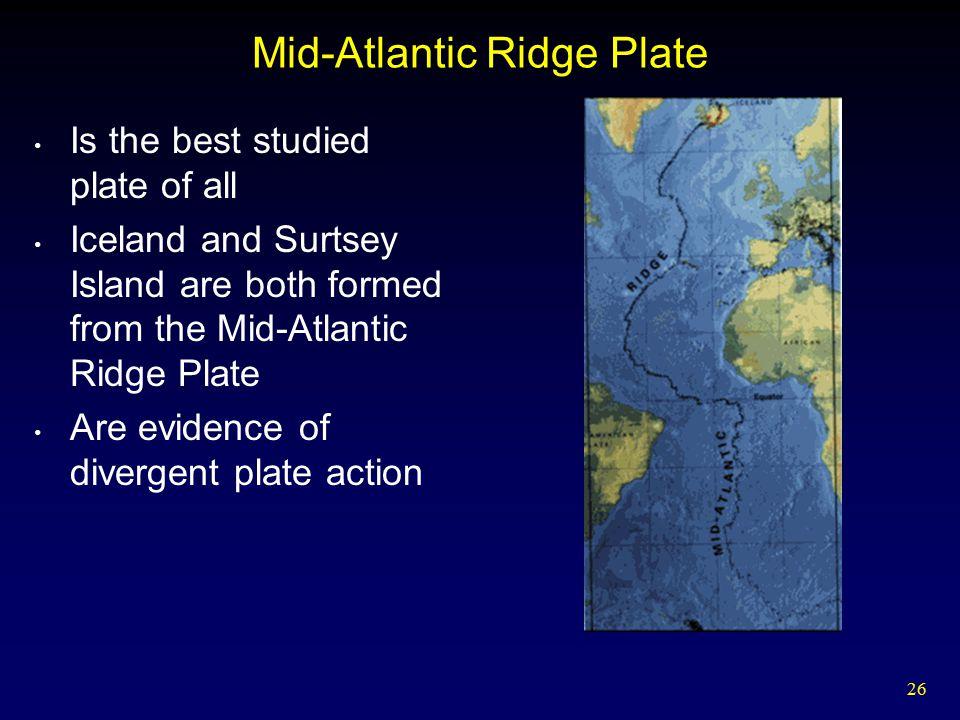 Mid-Atlantic Ridge Plate
