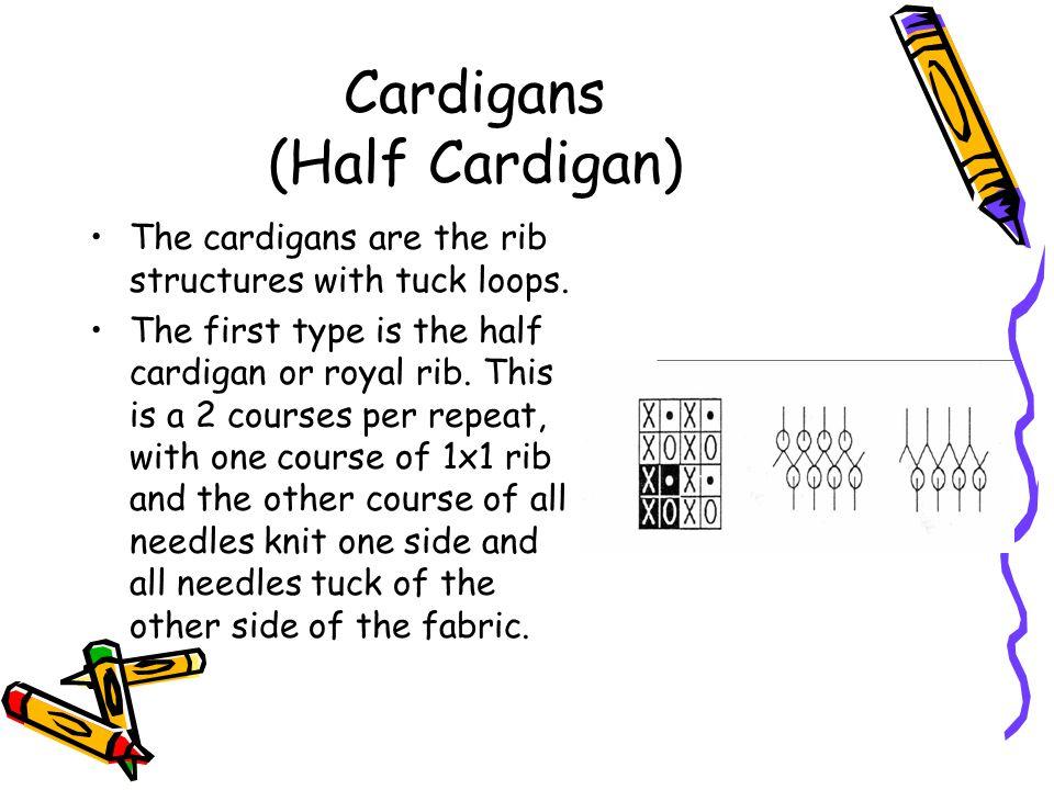 Cardigans (Half Cardigan)