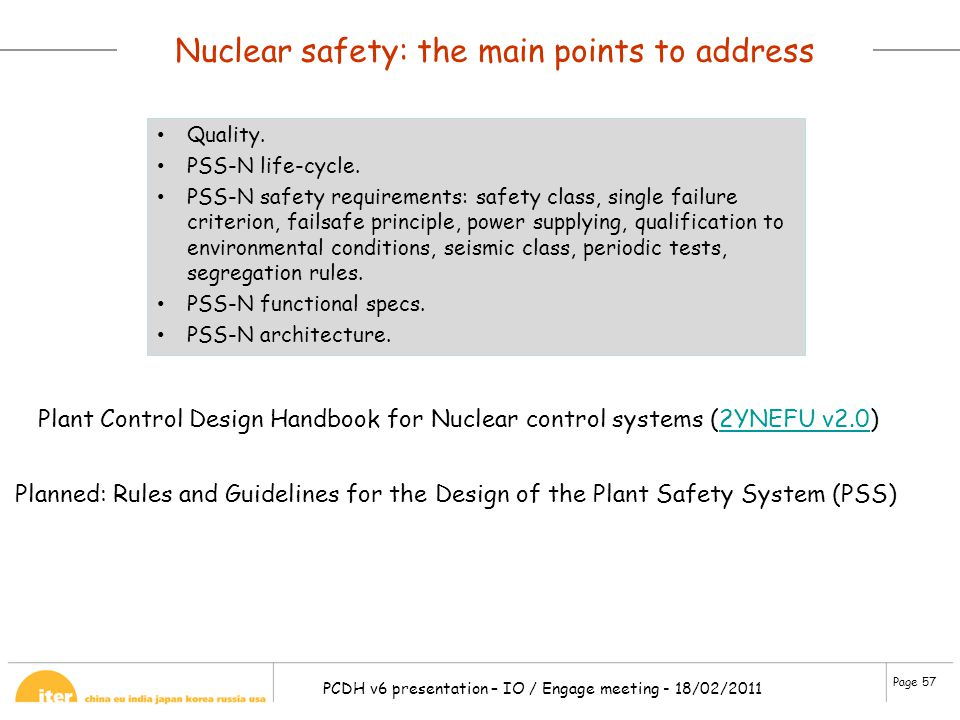 Nuclear safety: the main points to address