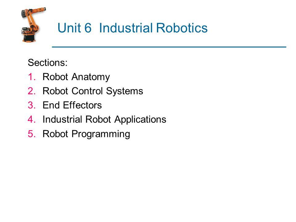 Unit 6 Industrial Robotics