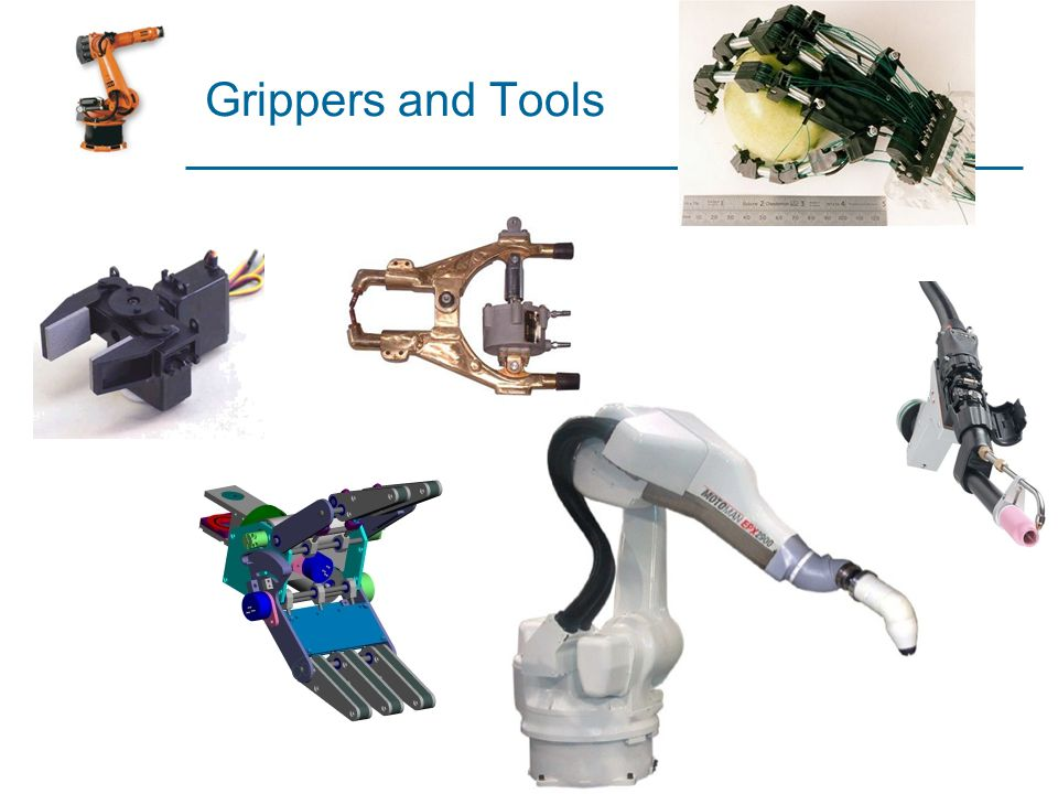 Grippers and Tools