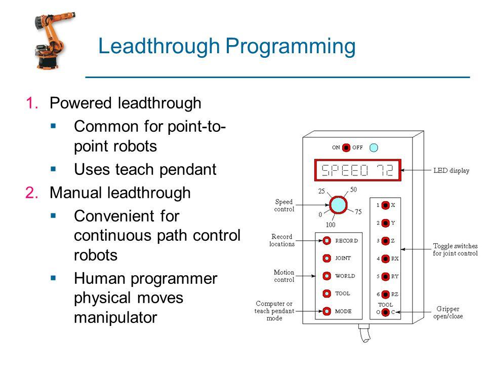 Leadthrough Programming