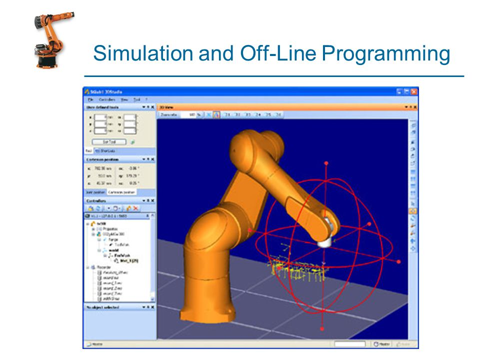 Simulation and Off-Line Programming
