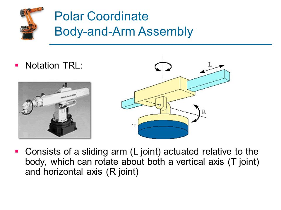 Polar Coordinate Body-and-Arm Assembly