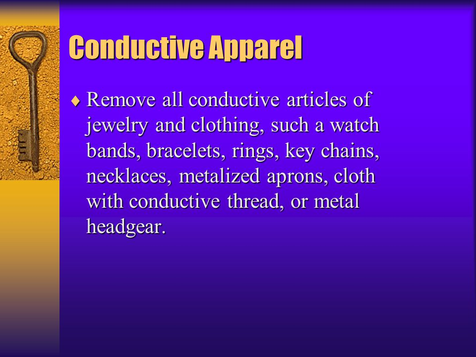 Conductive Apparel