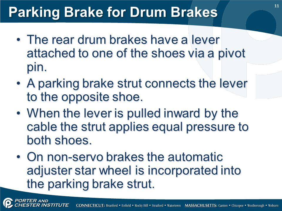 Parking Brake for Drum Brakes