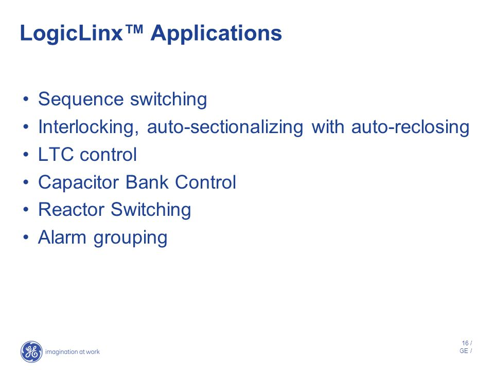 LogicLinx™ Applications