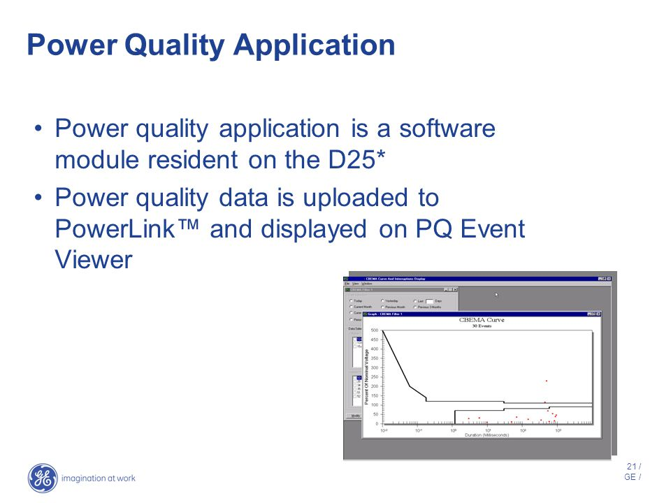 Power Quality Application