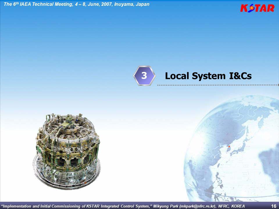 3 Local System I&Cs
