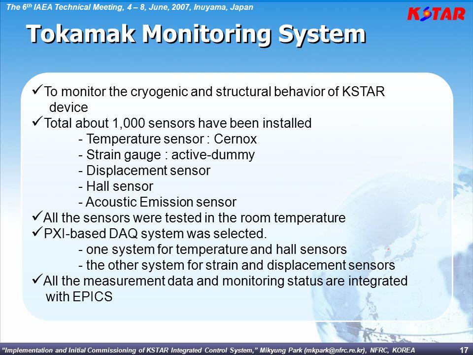 Tokamak Monitoring System