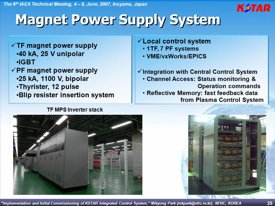 Magnet Power Supply System