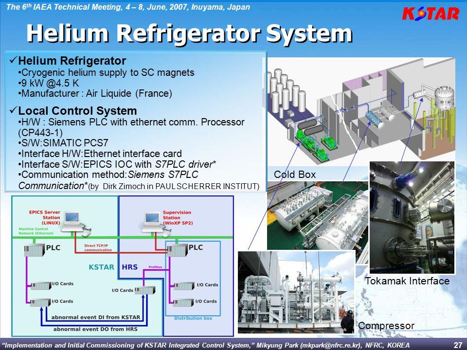 Helium Refrigerator System