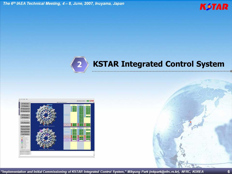 2 KSTAR Integrated Control System