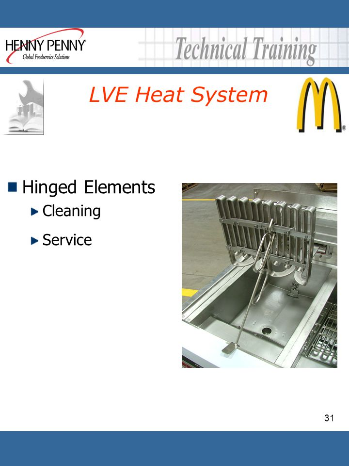 LVE Heat System Hinged Elements Cleaning Service