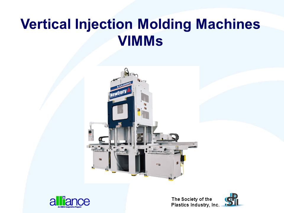 Vertical Injection Molding Machines VIMMs