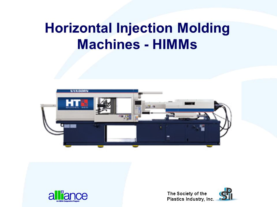 Horizontal Injection Molding Machines - HIMMs