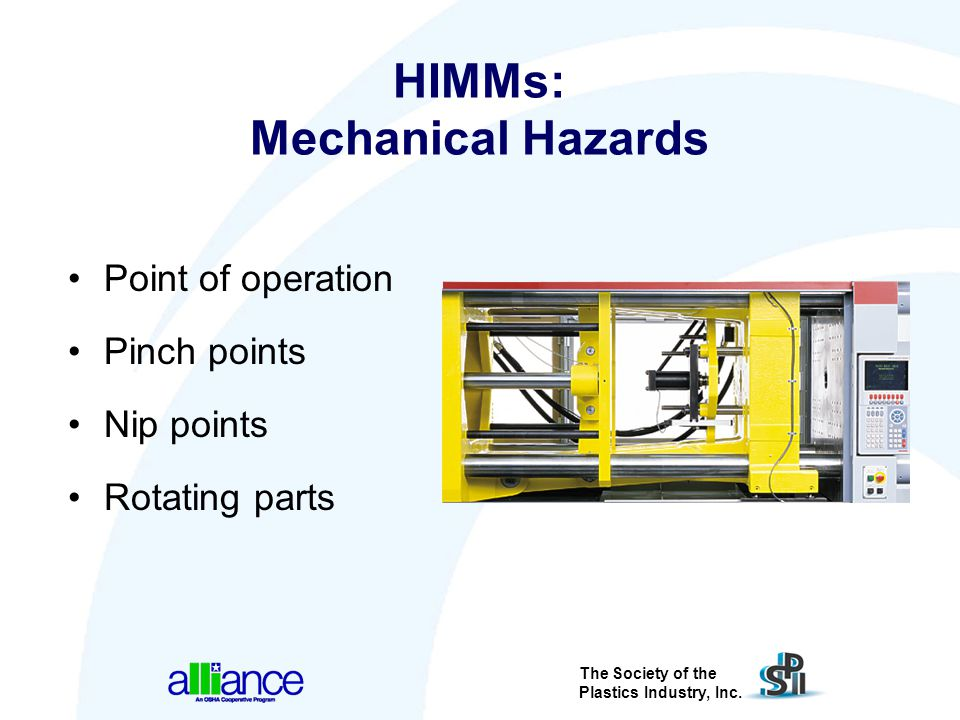 HIMMs: Mechanical Hazards