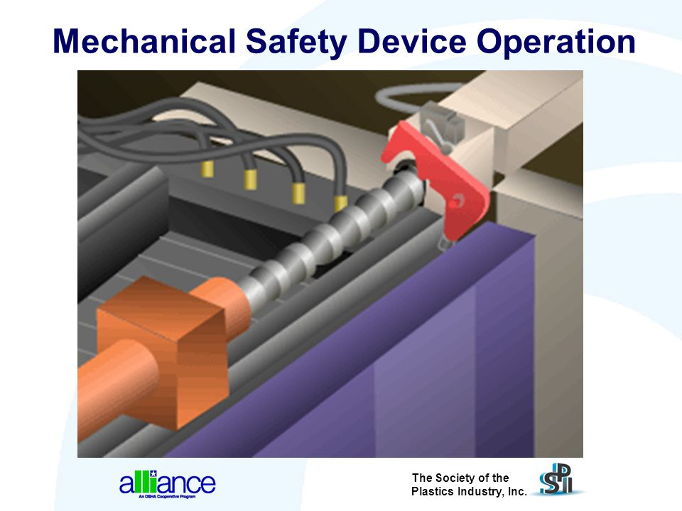 Mechanical Safety Device Operation