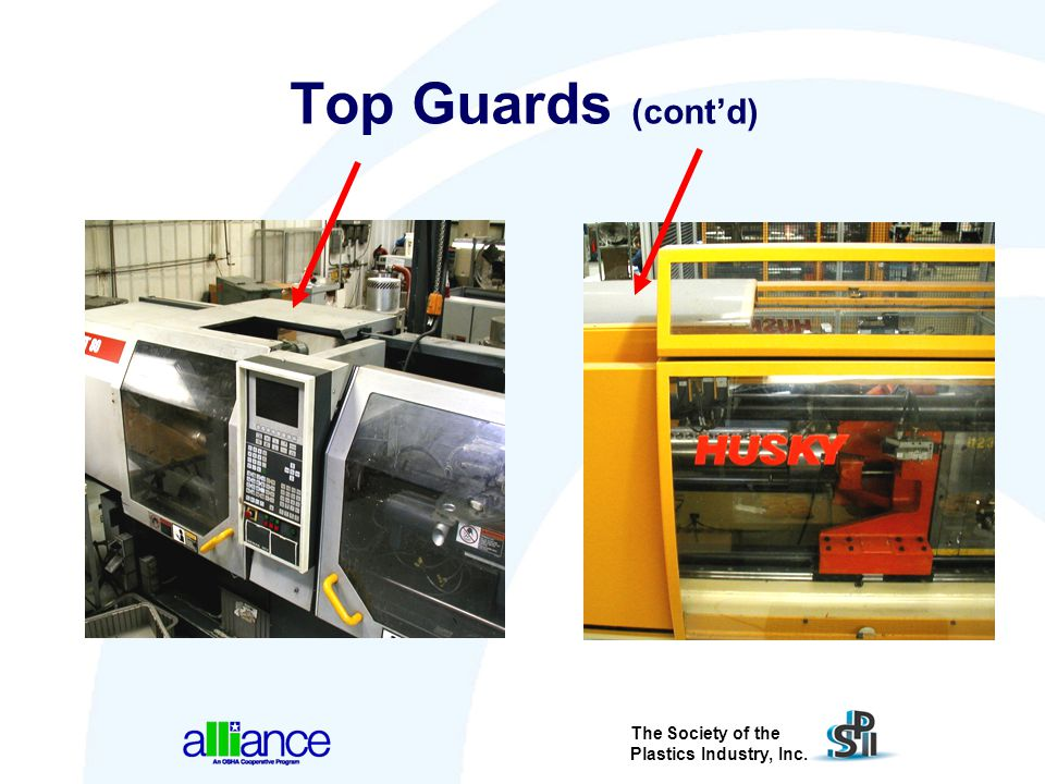 Top Guards (cont'd) Additional examples of top guards.