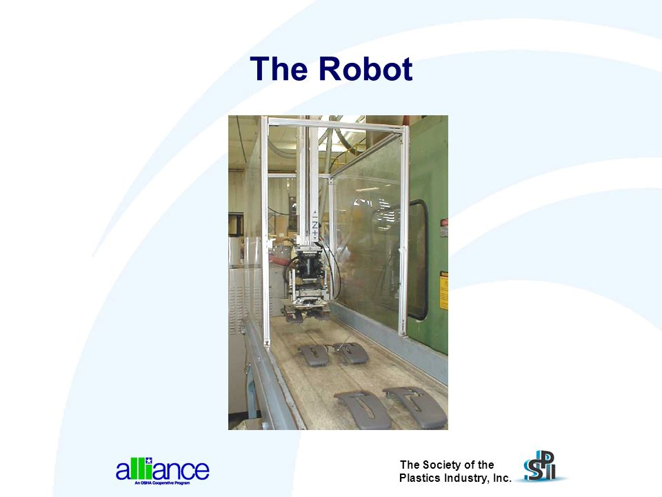 The Robot Simple fixes are available to avoid injuries due to robots trapping a person.