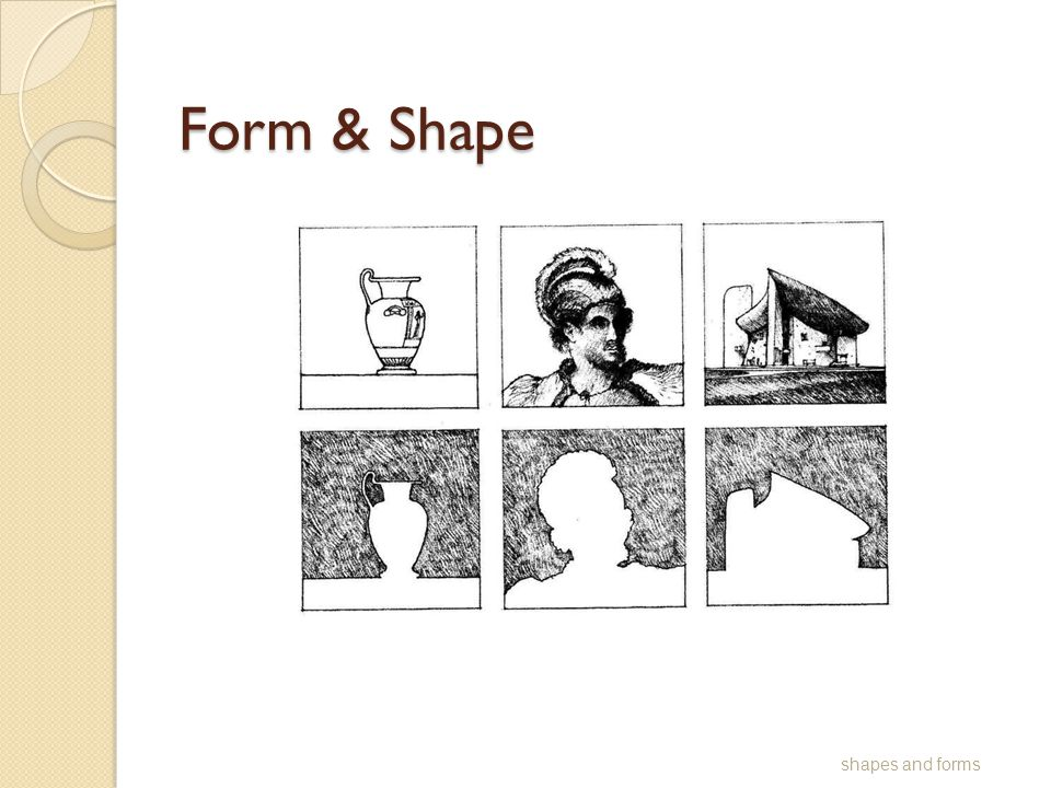 Form & Shape shapes and forms