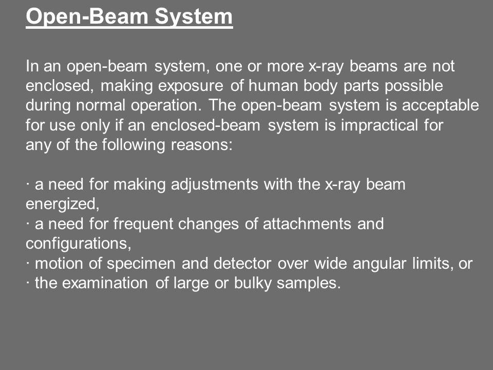 Open-Beam System