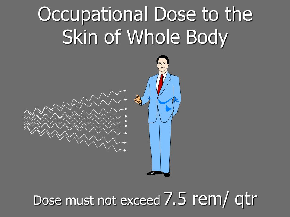 Occupational Dose to the Skin of Whole Body