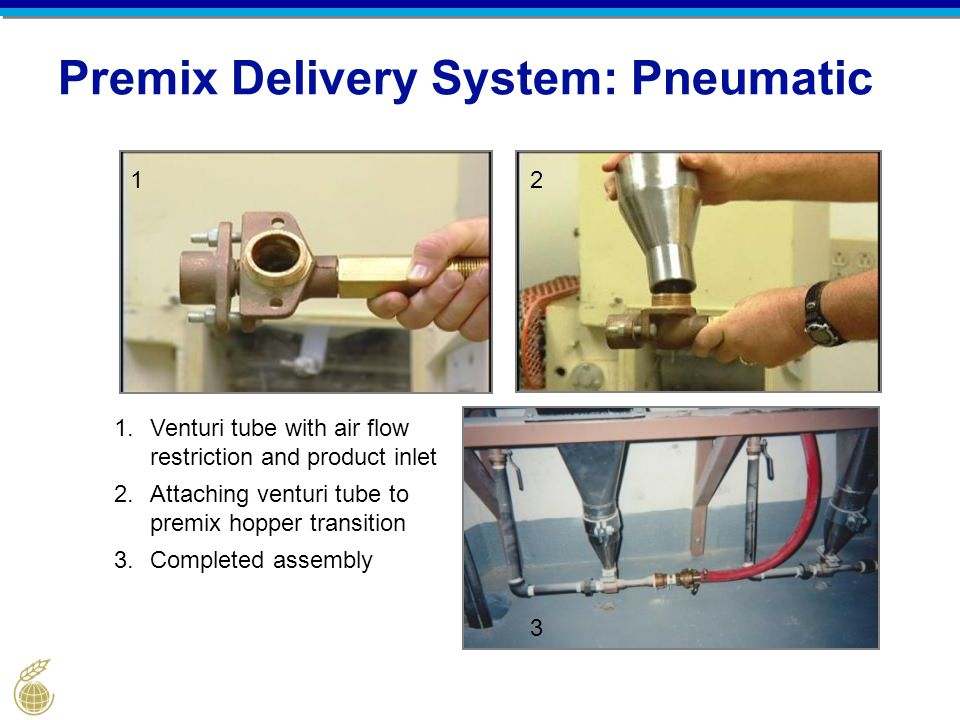 Premix Delivery System: Pneumatic