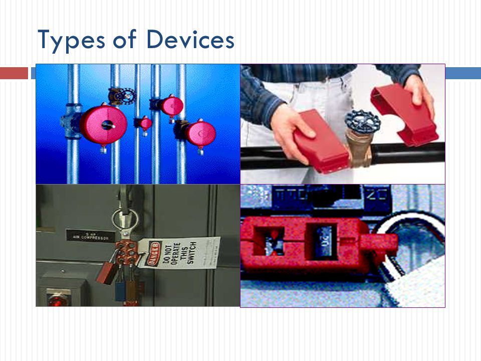 Types of Devices (Photos from the East Carolina University website)