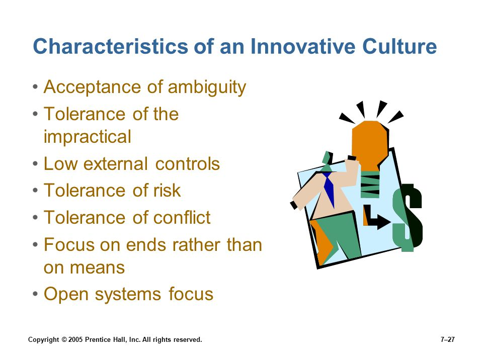 Characteristics of an Innovative Culture