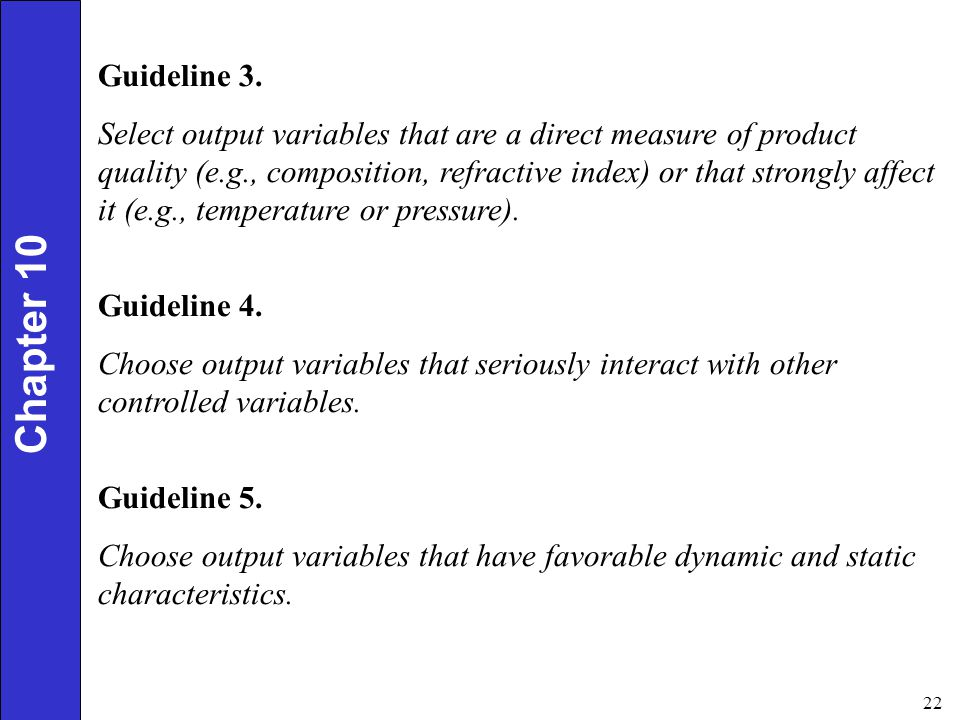 Guideline 3.