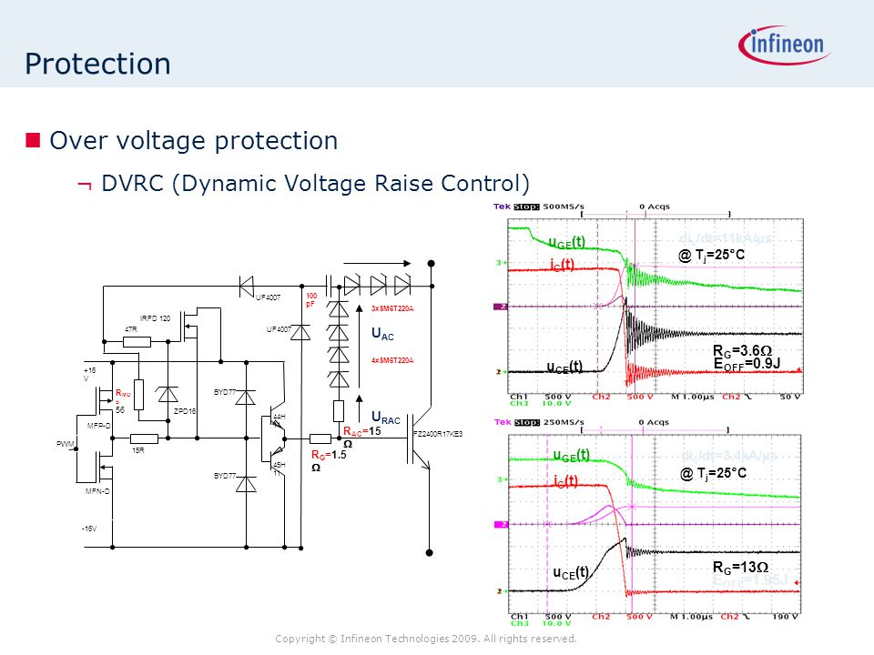 Protection Over voltage protection